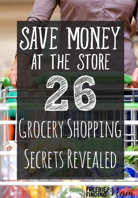 Secrets to Save Money Groceries Shopping