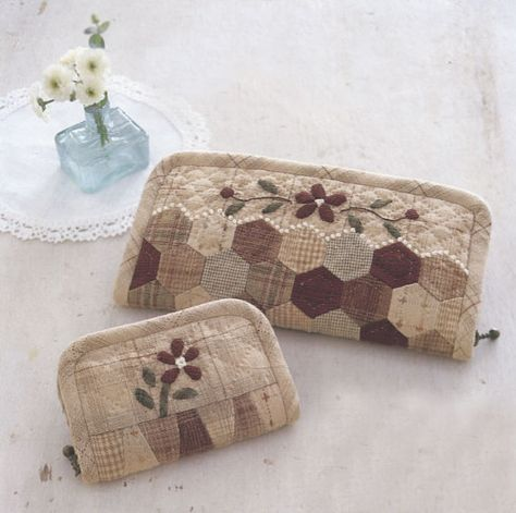 Ebook PDF Pattern Tutorial how to Vintage style 2 size short and long coin purse wallet bag clutch sewing hand made