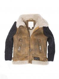 Kids' Jimoy Sheepskin Jacket by Diesel | Kids fashion | Pinterest ...