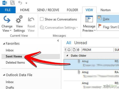 Recall An Email In Outlook Messages Teaching Good To Know