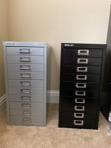 Bisley White 8 10 Drawer Collection Cabinets Drawers Storage Storage Furniture