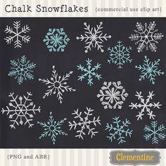 Bildergebnis Fur Kreidemarker Motive Weihnachten Clip Art Chalk Snowflakes