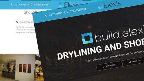 Build Elexis Co Uk Company Website Design Development And Optimisation With Images Web App Design Uk Companies Design Development