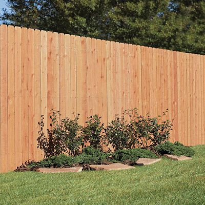 Learn How To Fence On Hillside This Home Depot Guides Discusses Contoured Fencing And Stepped Fences In 2020 Cheap Garden Fencing Building A Fence Garden Fence