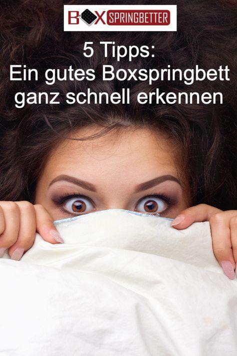 ᐅ Gutes Boxspringbett Worauf Achten 5 Punkte Check