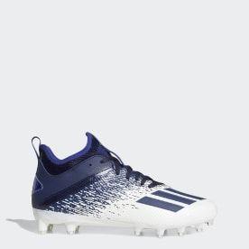 Adidas Adizero Scorch Cleats White Adidas Us In 2020 Adidas Football Cleats Adidas Football Football Cleats