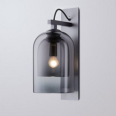 188 24 Cool Modern Contemporary Wall Lamps Sconces Shops Cafes Glass Wall Light 220 240v E27 Glass Wall Lights Wall Lights Wall Lamp
