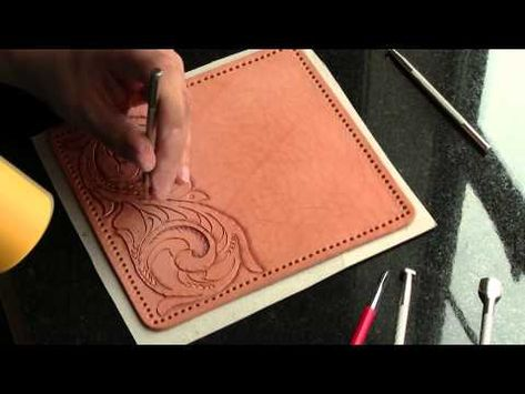 Leather Working Part 5 - YouTube
