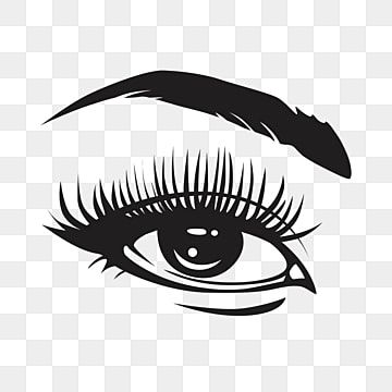 Black Eye Lashes Closeup Eyebrow Clipart Eyes Black And White Eyelash Png And Vector With Transparent Background For Free Download In 2021 Black And White Stickers Cartoon Eyes Vector Art
