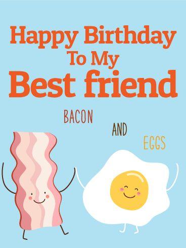 Best Friend Card Funny Birthday Card Friendship Friend Greeting Card Gift PC151