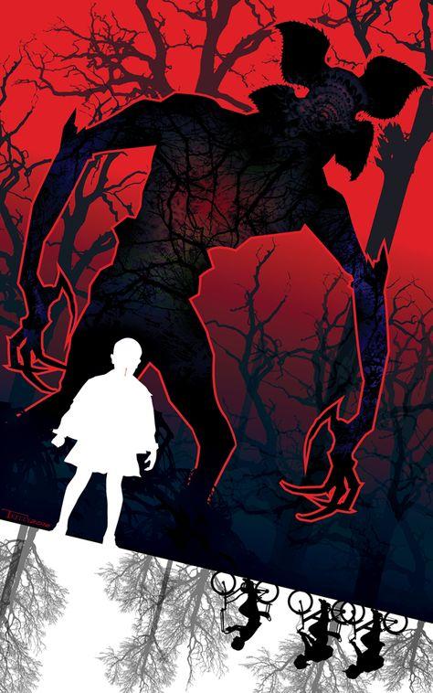 Stranger Things Stranger Danger by Tom Kelly by TomKellyART on DeviantArt