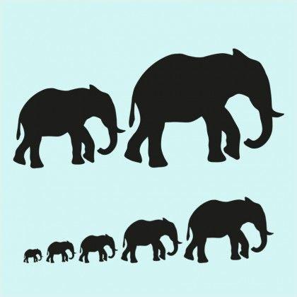 Silhouetten Wilde Tiere Pdf Tier Silhouette Wilde Tiere Tiere