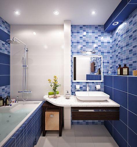 ▷ 1001 + designs impressionnants d\'une petite salle de bain moderne ...
