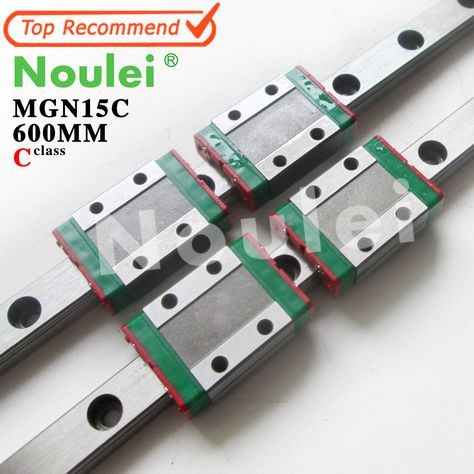 MGN12 500mm Linear Rail Linear Guide Way MGN12H Bearing Block For CNC