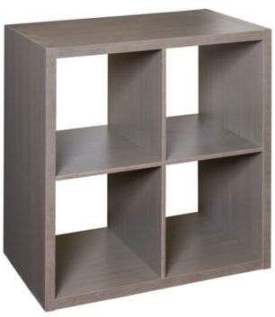 Premium Laminate 4 Cube Organizer Shelf In Teak Works Cubby Storage Cube Organizer Storage Shelves Shelves