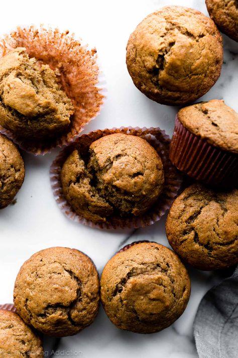 Quick  Easy Banana Muffins | Sally's Baking Addiction
