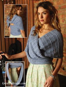 Wrap knitting pattern                                                           ...,  #knitting #pattern #wrap