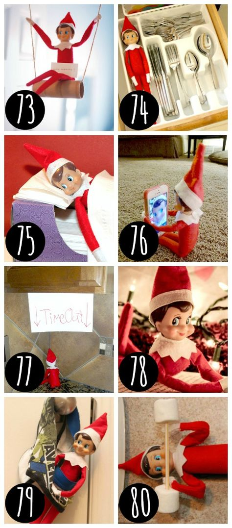 Kids Christmas Games Ideas Elf On The Shelf Ideas For 2019 : elf on the shelf Your children enjoy their elves on the space, and you adore them for warm him. These toddlers are essentially an impro Dating Divas, Christmas Games For Kids, Christmas Activities, Elf Auf Dem Regal, Awesome Elf On The Shelf Ideas, Elf On The Self, Christmas Elf, Christmas Kitchen, Christmas Carol