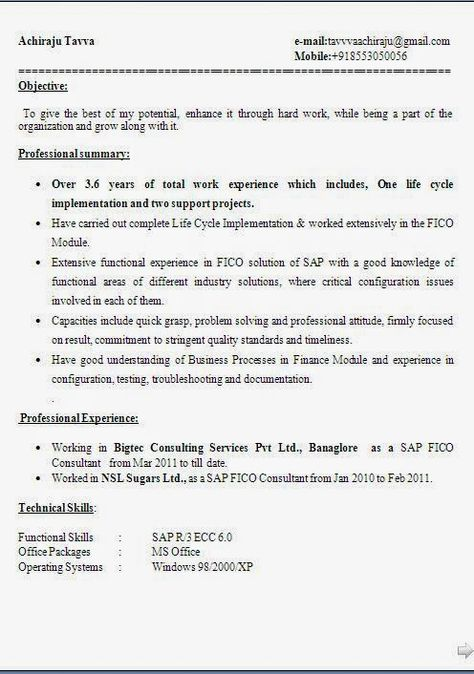 Good Career Objective Resume Unique Curriculum Vitae Cv Sample Template Example Of Excellent Curriculum .