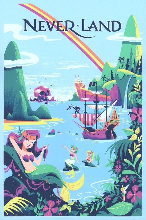 7 Disney Dream Destination Art Pieces by Cyclops Print Works That Make Us Want t. 7 Disney Dream Destination Art Pieces by Cyclops Print Works That Make Us Want to Travel 7 Disney
