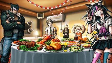 hinata with orange juice Hinata, Danganronpa Game, Danganronpa Characters, Ibuki Mioda, Nagito Komaeda, Trigger Happy Havoc, Orange Juice, Food Videos, Anime Stuff