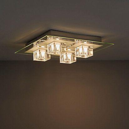 Fema Chrome Effect 4 Lamp Ceiling Light Ceiling Lights Chrome