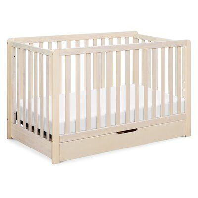 Colby 4 In 1 Convertible Crib With Storage Color Washed Natural