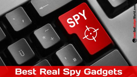 Best Real Spy Gear: Cool Tools and Stuff to Buy 2019
