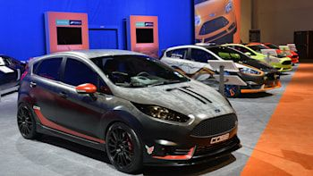 Ford Fiesta St Customs Sema 2013 Photo Gallery In 2020 Ford Fiesta St Fiesta St Ford Fiesta