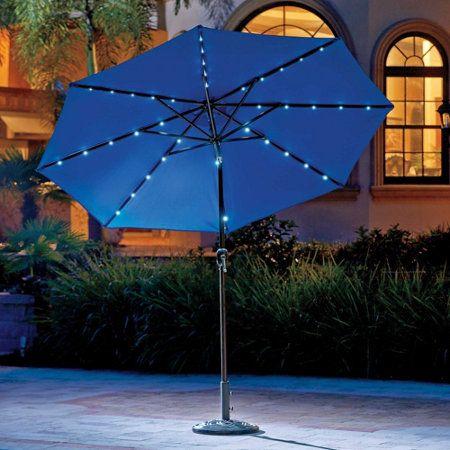 Patio Umbrella Lights Magnetic Umbrella Solar Lights The Green Head | Deck/ Patio | Pinterest | Patio Umbrella Lights, Umbrella Lights And Patio  Umbrellas