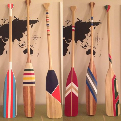 Custom Oars // Hand Painted Canoe Paddle // Canoe Oar // Home Decor // Personalized // Wedding // Farmhouse // Birthday Gift / Painted Paddl