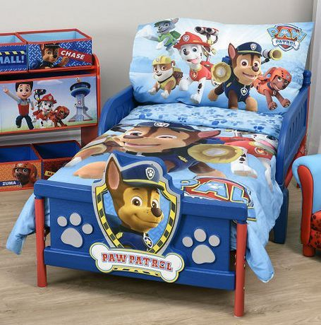 Paw Patrol Toddler Bedding Set Blue Paw Patrol Toddler Bedding Toddler Bed Set Blue Bedding Sets