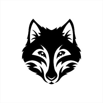 Wolf Head Monochrome Symbol Logo Vector Illustration Wolf Clipart Logo Icons Wolf Icons Png And Vector With Transparent Background For Free Download Vector Illustration Wolf Clipart Vector Logo