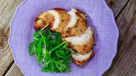Cheese-Packed Chicken Breasts - both healthy and flavorful!