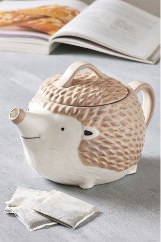 We Love A Quirky Touch To Our Kitchen And What Better Than This Hedgehog Teapot Tea Pots Printed Tea Towel Favorite Things List