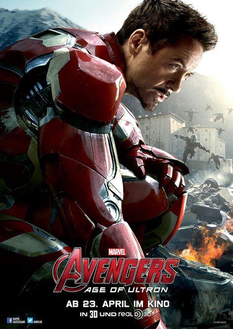 Avengers Age Of Ultron 2015 Mit Bildern Iron Man Avengers