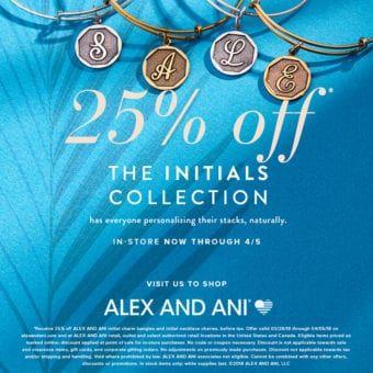 alex and ani discount code