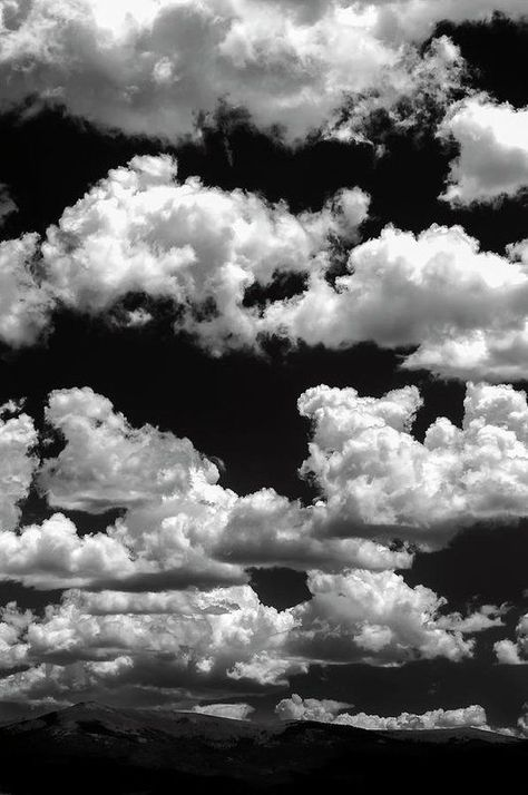 Clouds and white photography Mountain Clouds Art Print by The Forests Edge Photography - Diane Sandoval Black Aesthetic Wallpaper, Aesthetic Backgrounds, Aesthetic Wallpapers, Black Backgrounds, Black And White Picture Wall, Black And White Pictures, Dark Pictures, Dark Pics, Dark Images