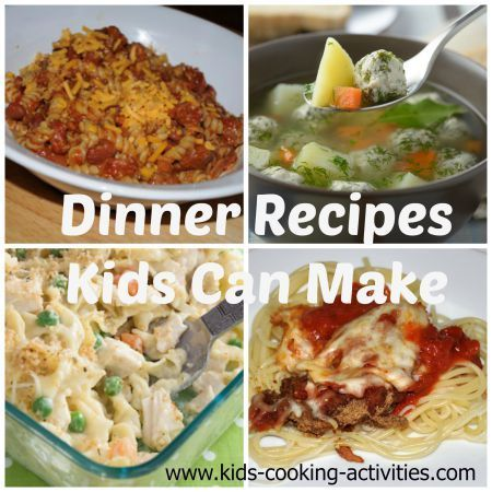 60 Easy Recipes Kids Can Make Kids Cooking Recipes Easy Meals For Kids Recipes Kids Can Make