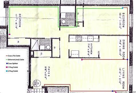 Image Result For Electrical Wiring Diagram 3 Bedroom Flat Floor Plan Drawing 3 Bedroom Flat Dining Roo