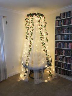 Bedroom fairy lights inspiration   Indoor fairy light inspiration
