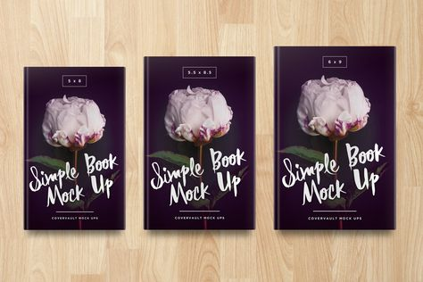 Multiple Sized Hardcover Book Psd Mockup Covervault Book Cover Mockup Mockup Psd Hardcover Book