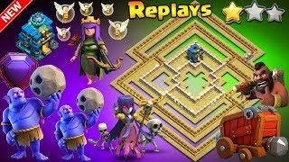 UNDEFEATABLE TH12 WAR BASE 2018 Anti 2 Star With Replays