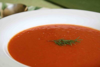 Apples and Butter: Roasted Tomato Soup