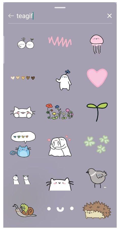 instagram stickers stories cute