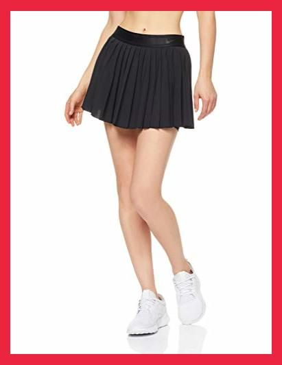 Nike Women S Court Victory Tennis Skirt Black Black Black X Small Nike Women Dry Pleated In 2020 Golf Attire Women Golf Outfits Women Girl Golf Outfit