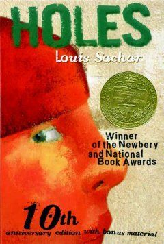 1999 - Holes by Louis Sachar - As further evidence of his family's bad fortune which they attribute to a curse on a distant relative, Stanley Yelnats is sent to a hellish correctional camp in the Texas desert where he finds his first real friend, a treasure, and a new sense of himself.