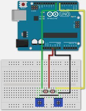 2 Ldr S Aan Een Digitale Arduino Pin
