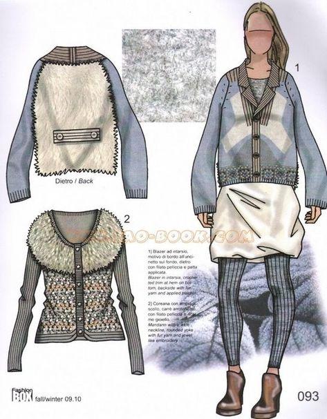Fashion box Womwen. Трикотажные идеи.. Обсуждение на LiveInternet - Российский Сервис Онлайн-Дневников