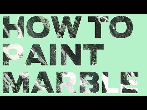 Master trompe l'oeil painter Patrick Kirwin demos green marble in his Monday night Art League class (video)